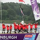 Edinburgh Round the world Clipper Crew Leaving Derry 07/07/2012 by mikequigley