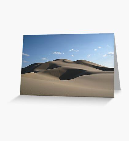 Mongolian Dunescape Greeting Card