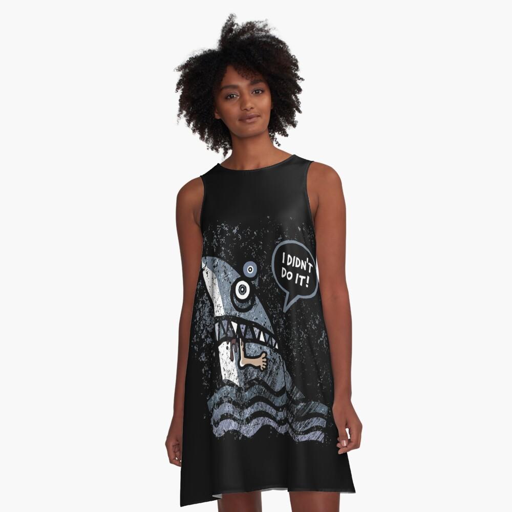 Plausibilität A-Linien Kleid