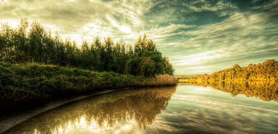 Reflections On The Manning by Matthew Jones