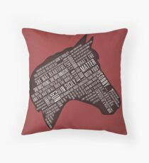 Godfather - Horses Head Quotes Print Dekokissen