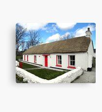 Homestead Donegal Ireland  Canvas Print
