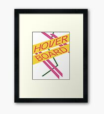 Hoverboard Design Framed Print