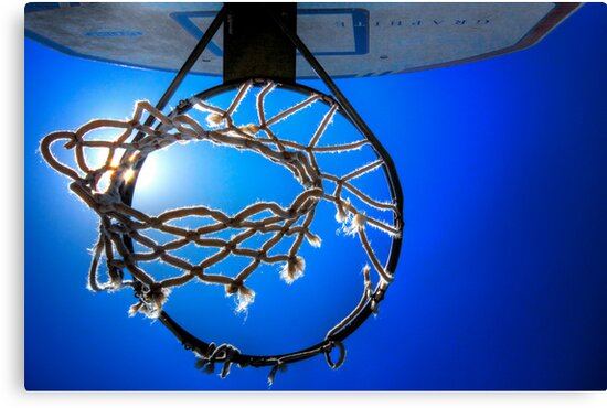 Hoop Blue by Bob Larson