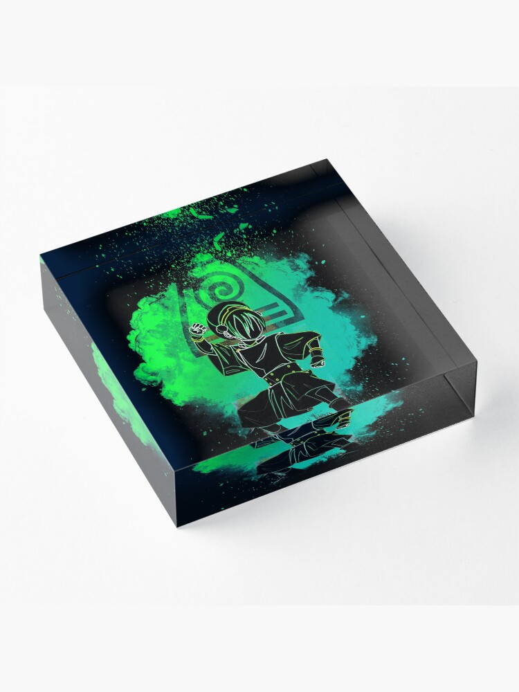 Alternate view of Soul of the Earthbender Acrylic Block