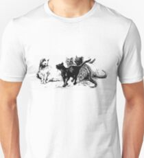 Cats Sizing each other T-Shirt