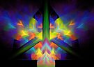 Peace Symbol by Virginia N. Fred