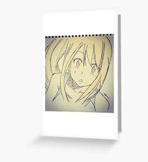 Lucy Heartfilia  Greeting Card