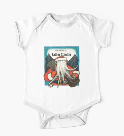 Father Cthulhu Kids Clothes