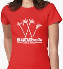 Santa Rosita Beach State Park Women's Fitted T-Shirt