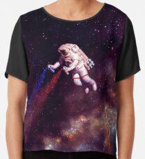 Shooting Stars - der Astronautenkünstler Chiffontop