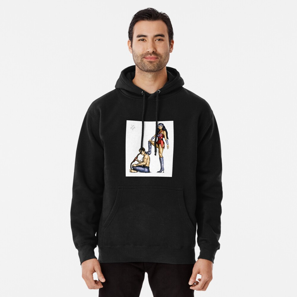 Catra and Bow, 2014 Pullover Hoodie