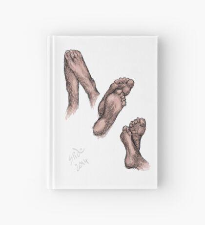 """""""Feet, 2014""""  Hardcover Journal"""