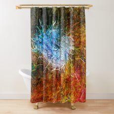 Dendrification 9 Shower Curtain