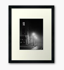 At the corner of Chiaro & Oscuro Framed Print