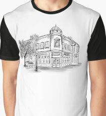 Rose and Crown (neue Version mit dem Namen United Kingdom Pavillion erhältlich) Grafik T-Shirt