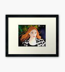 Amy Pond Framed Print