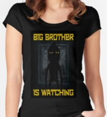 """""""Big Brother"""" Women's Fitted Scoop T-Shirt"""
