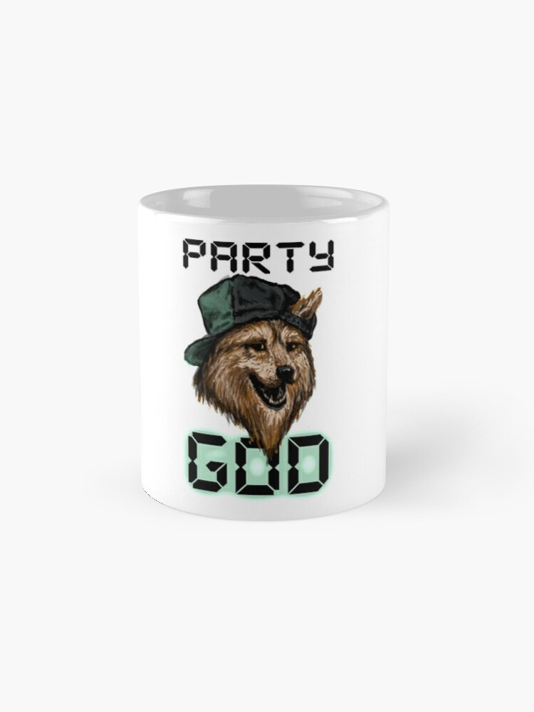 Alternate view of Party God Mugs