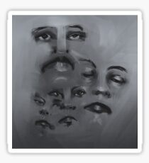 Pool of Faces Sticker
