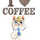 Love Coffe by SueAnnApparel