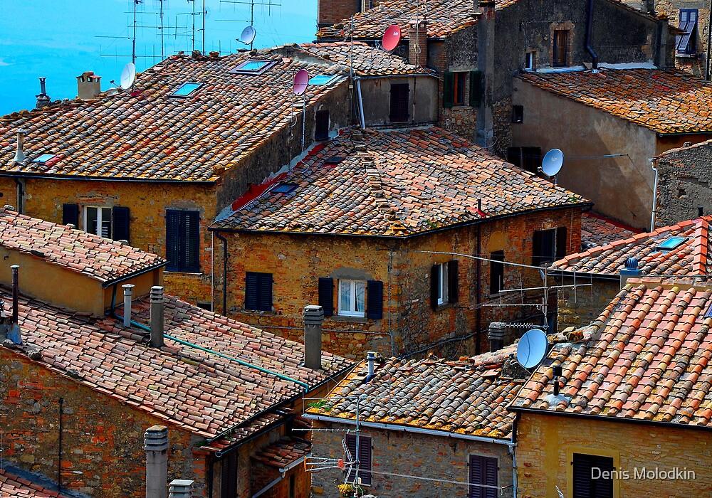 Volterra - Town of Twilight V by Denis Molodkin