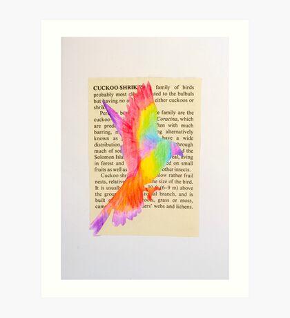 cuckoo shrieke Art Print