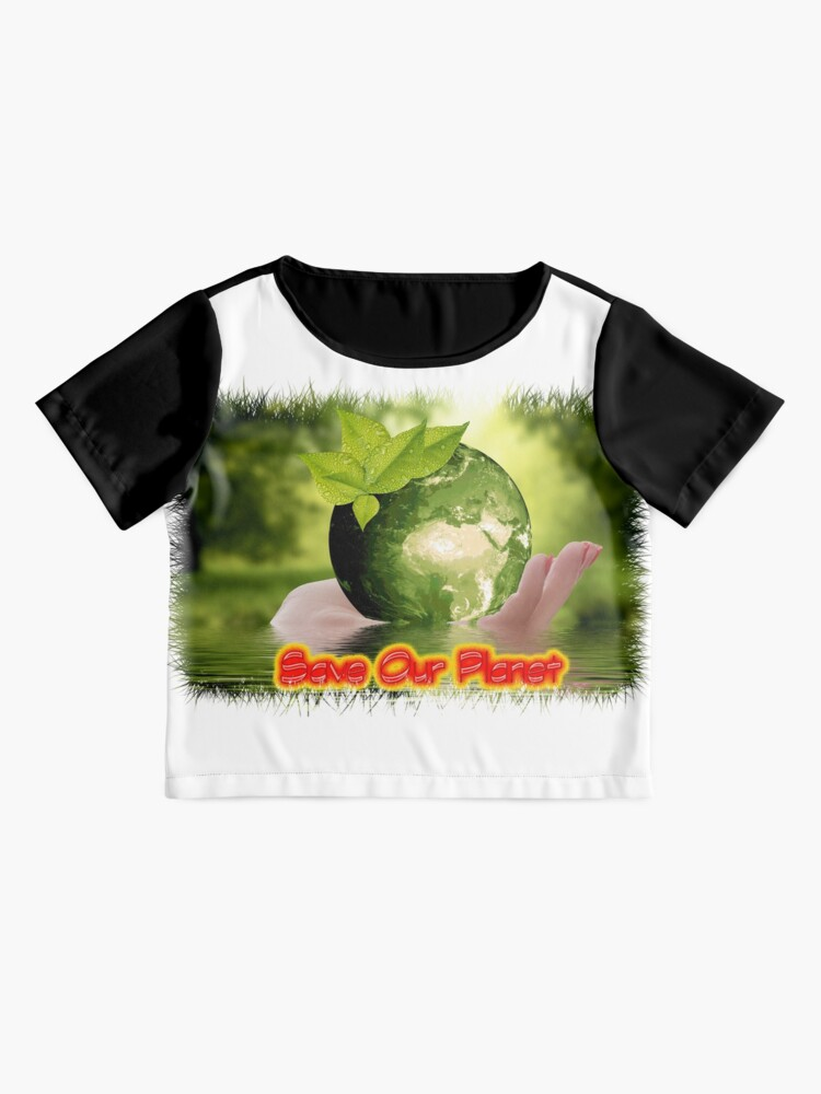 Alternate view of Save Our Planet Chiffon Top