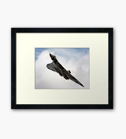 Vulcan over Framed Print