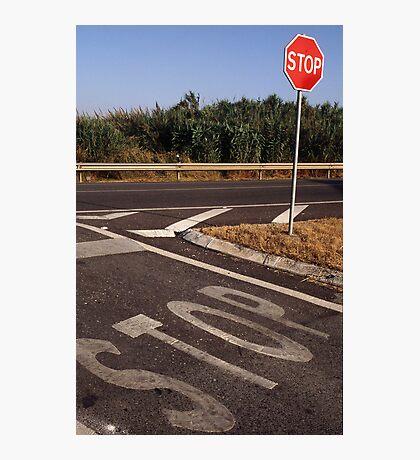 Double Stop Photographic Print