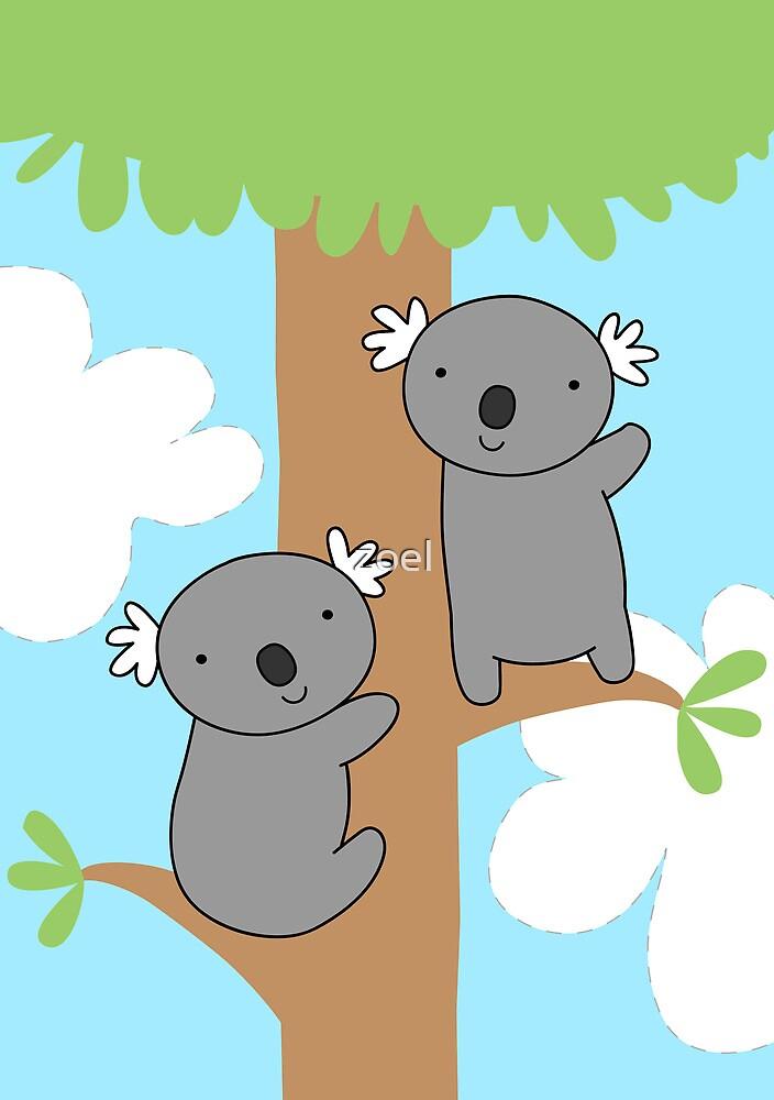 Let's Climb Trees  by Zoe Lathey