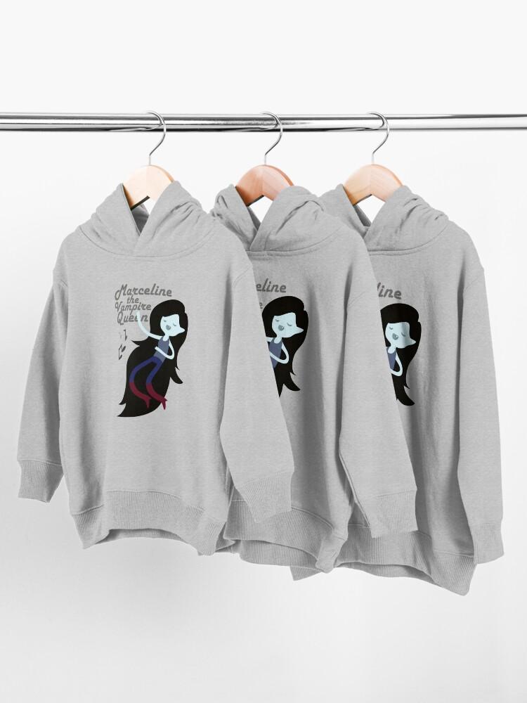 Alternate view of Marceline, The Vampire Queen Toddler Pullover Hoodie