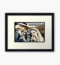 Mr and Mrs Pleasant, 2014 Framed Print