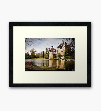 Scotney Castle: Kent, England, UK. Framed Print