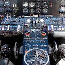 Flying by Boxcar C-82A by ArtbyDigman