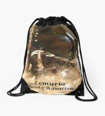 Lemuria Quartz Aquarium Drawstring Bag