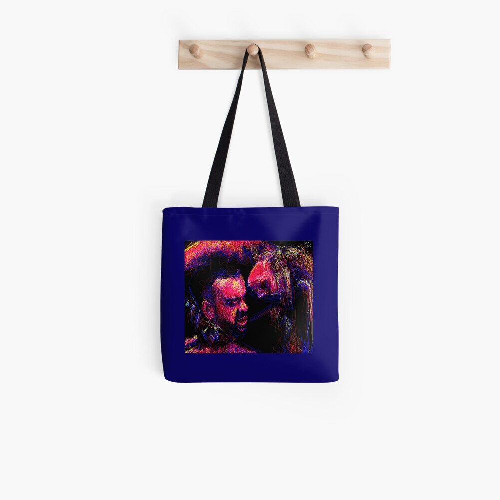 """""""His Neck, 2013"""" by Ms Slide Tote Bag"""