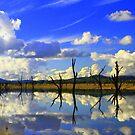 Lake Hume, NSW, Autralia. by Petehamilton