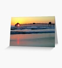 A Perfect Ending to a Perfect Day Greeting Card
