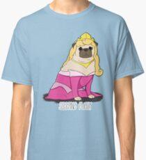Sleeping Pugly Make it Pink! Classic T-Shirt
