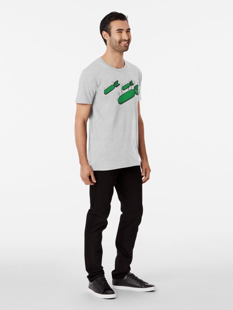 Alternative Ansicht von Bomben weg Premium T-Shirt