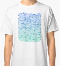 Ombré Waves Classic T-Shirt