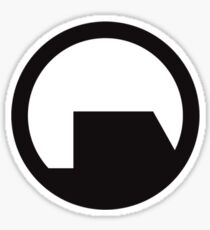 Black Mesa - High Fidelity Logo Sticker
