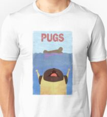 PUGS Fake Movie Poster Unisex T-Shirt