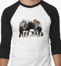 HotRod burn gasoline Men's Baseball ¾ T-Shirt