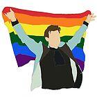 «Harry Styles y Rainbow Flag» de Hilaarya