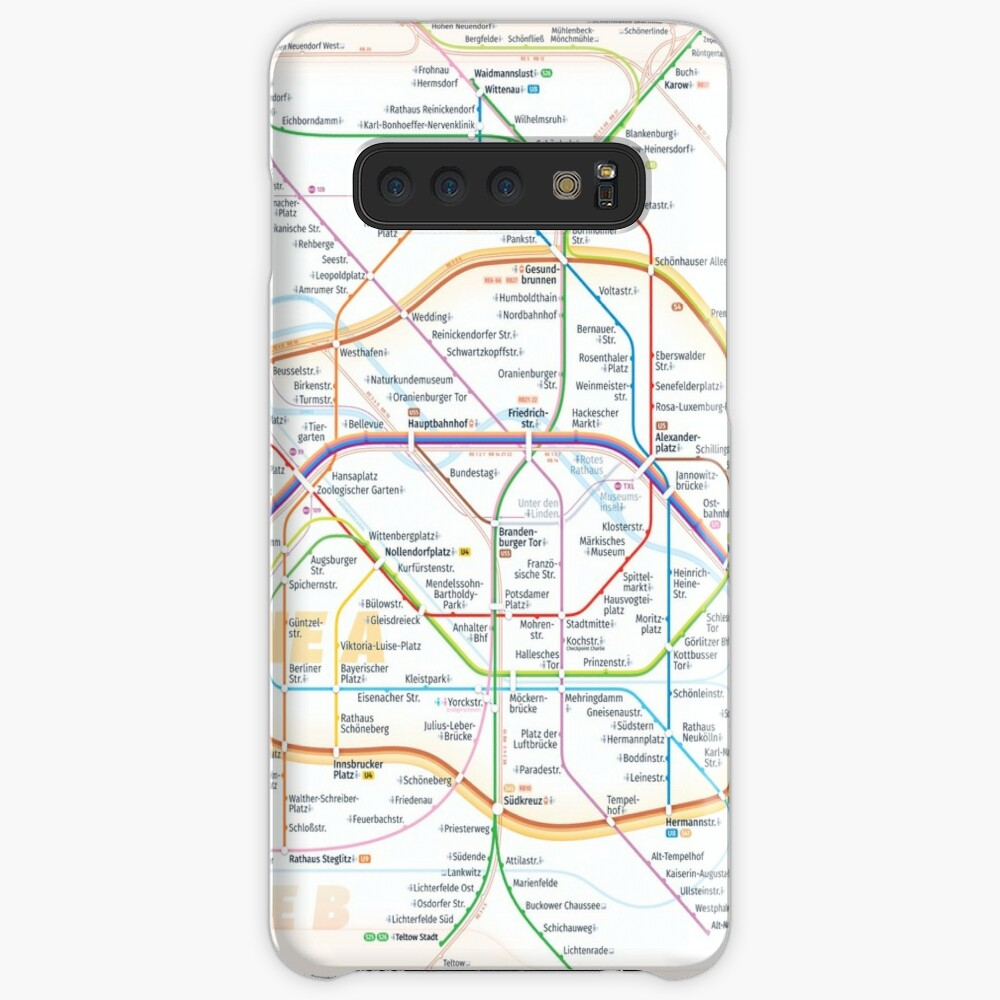 New Berlin rapid transit route map (February 27, 2019) Case & Skin for Samsung Galaxy