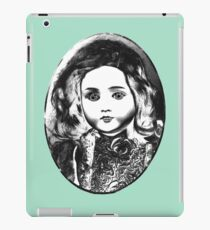 Antique doll iPad Case/Skin