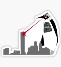 Robopenguin on the Rampage Sticker