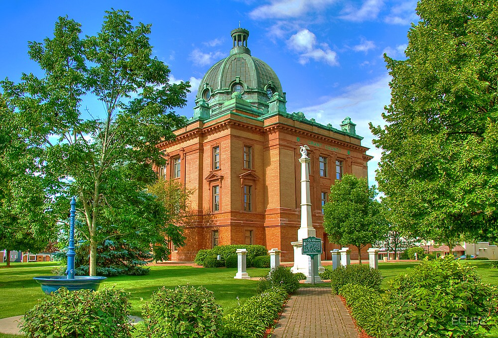 Grant County Courthouse by ECH52